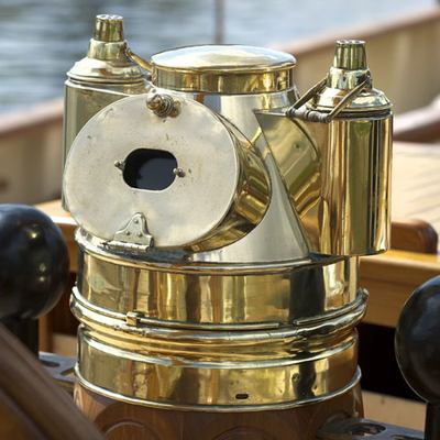 Atlantic Yacht Detail - Brass