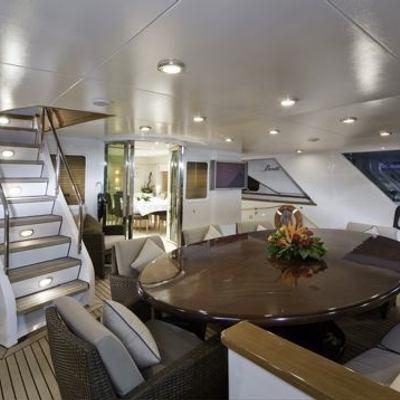 Superfun Yacht Aft Deck