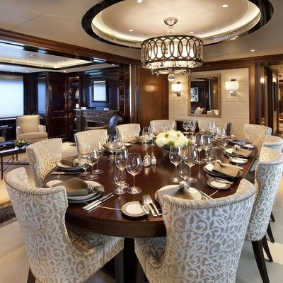 Seanna Yacht Dining Salon