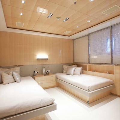 La Pellegrina I Yacht Twin Cabin