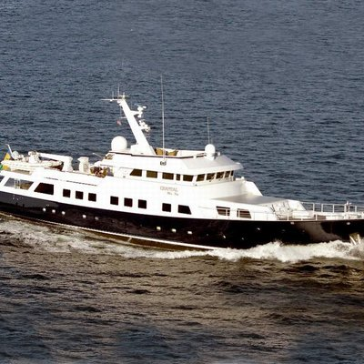 Aga 6 Yacht Running Shot