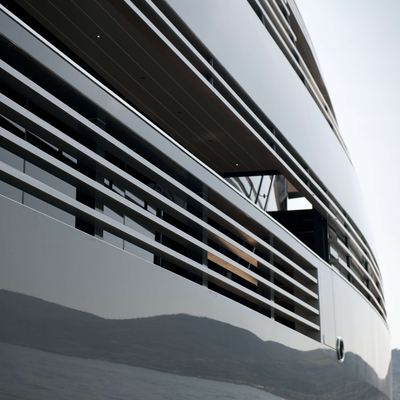 Ocean Pearl Yacht Exterior Detail