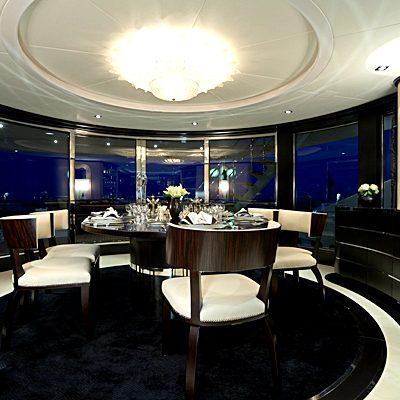 G Force Yacht Dining Salon
