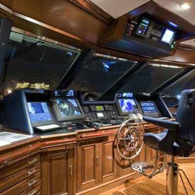 Teleost Yacht Pilothouse