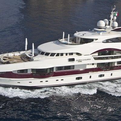 Quite Essential Yacht Running Shot - Close Profile