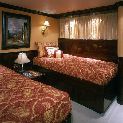 Ionian Princess Yacht Twin Stateroom