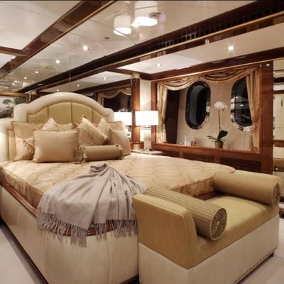 Diamonds Are Forever Yacht Neutral Stateroom