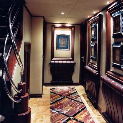 Lagniappe Yacht Hallway