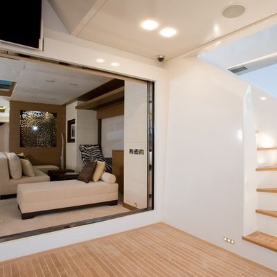 Namaste 8 Yacht External Staircase