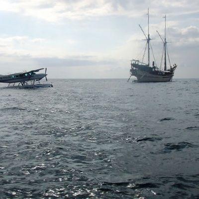 Silolona Yacht Rear View