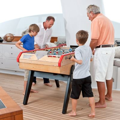 April Yacht Sun Deck Table Football