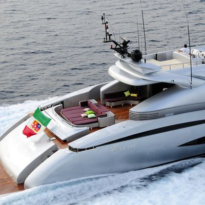 My Toy Yacht Running Shot - Rear