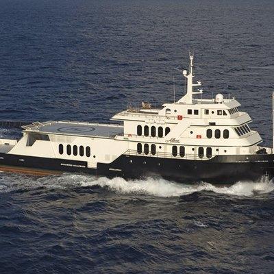 Global Yacht Running Shot - Profile
