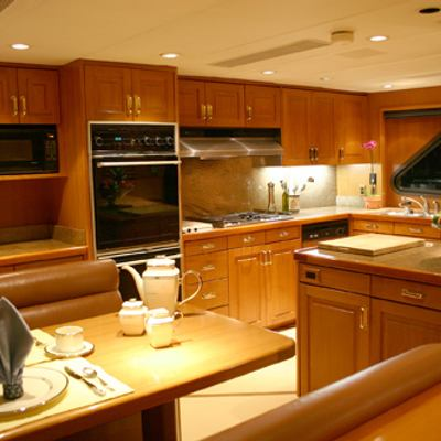 Silent World II Yacht Country Kitchen