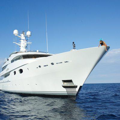 Lady Sheridan Yacht Front View