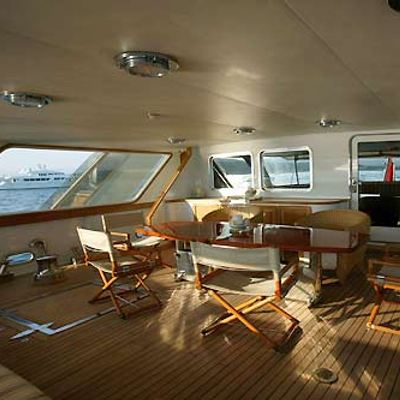 India Yacht After Deck