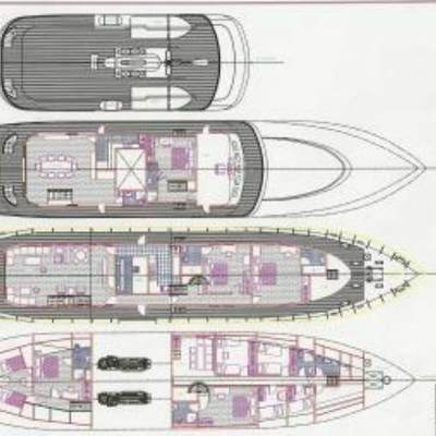 Eliki Yacht Deck Plans