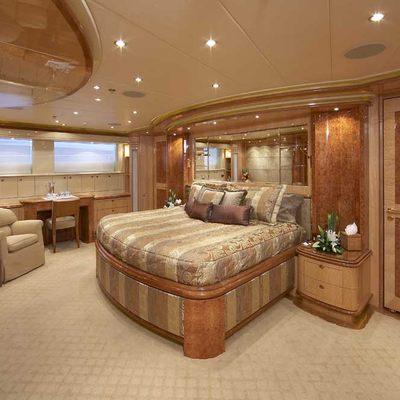 Lady Leila Yacht Master Stateroom