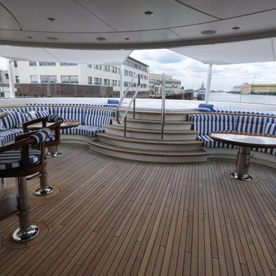 Lady Kathryn V Yacht Jacuzzi