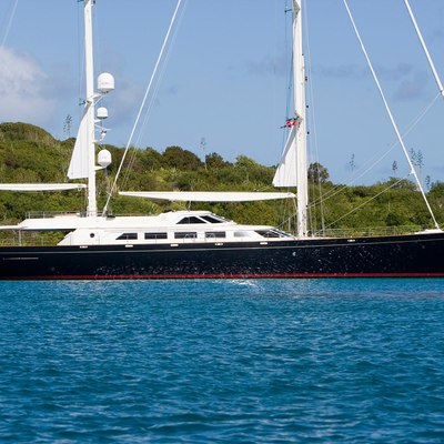 Antara Yacht Side View