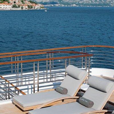 Carpe Diem Yacht Sun Loungers