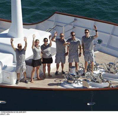 Axantha II Yacht Crew