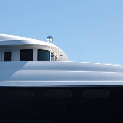 Zaliv III Yacht Exterior Detail