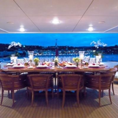 Balaju Yacht Bridge Deck Aft
