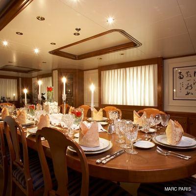 Seawolf Yacht Dining Salon