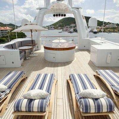 Freedom Yacht Upper Sundeck