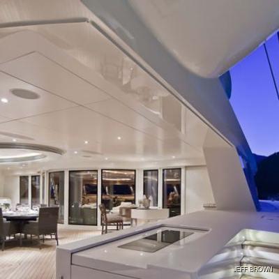 Hemisphere Yacht View Along Side