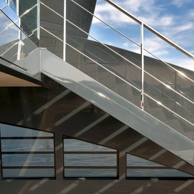 Ocean Pearl Yacht Exterior Stairs