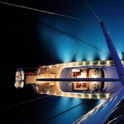Prana Yacht Prana by night