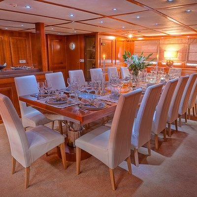 Sanssouci Star Yacht Dining Salon