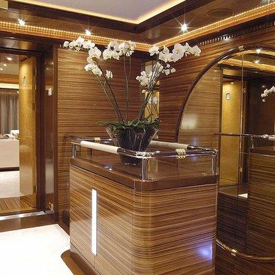 Sea Walk Yacht Hallway