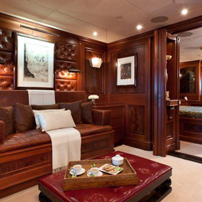Tiara Yacht VIP suite