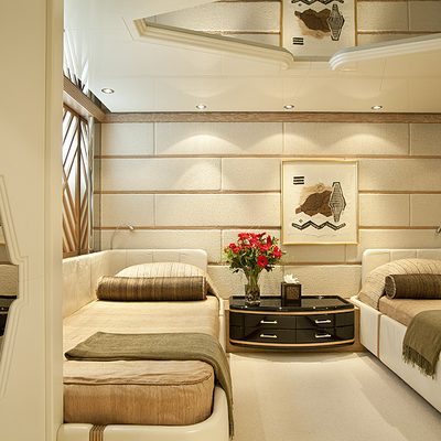 Eclipse Yacht Twin Stateroom