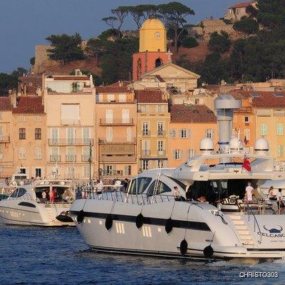 Celcascor Yacht In Port