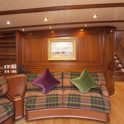 Athos Yacht Interior Seating
