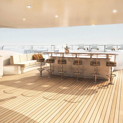 Diamonds Are Forever Yacht Exterior Bar