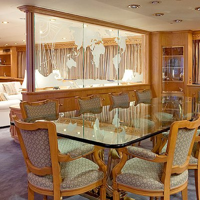 Lady Rose Yacht Dining Room