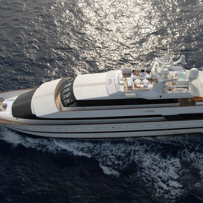 Ladyship Yacht Aerial View