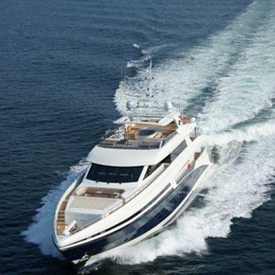 Tatiana Yacht Running Shot - Front View