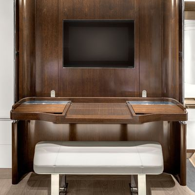 Vertigo Yacht VIP Cabin Desk