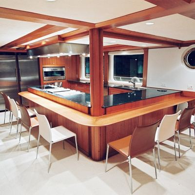Latitude Yacht Gourmet Galley/Dining