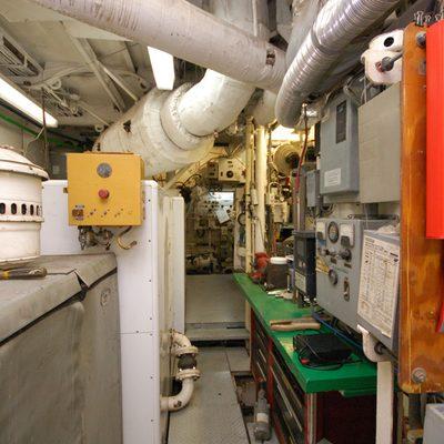 Stargazer Yacht Engine Room