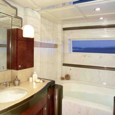 Silver Dream Yacht Master Bathroom