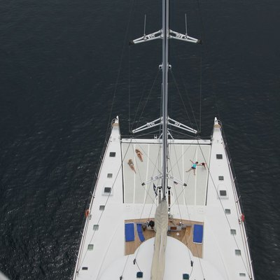 Douce France Yacht Mast with a View
