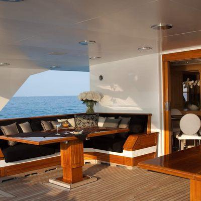 Shake N Bake TBD Yacht Seating Area