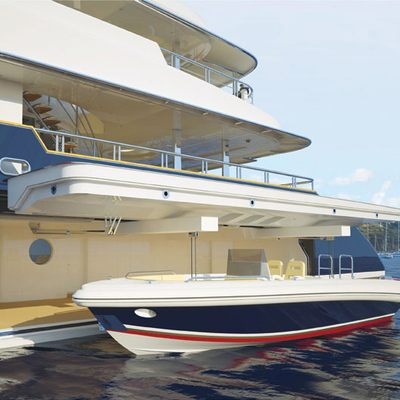 Sycara V Yacht Tender Launch